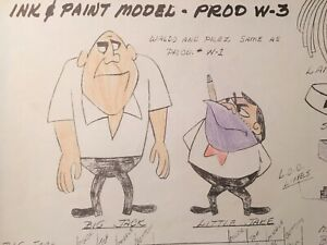 1960 Mr. Magoo Series Photostat Model sheet Cartoon Animation Production