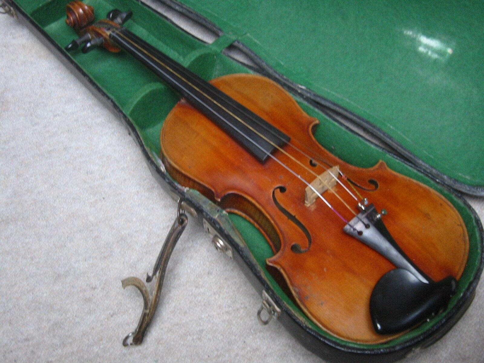 Violín antiguo bellamente flameado violon  farojoti coelestes coelestes coelestes a Sancto germanosulfuro Casal   descuento online