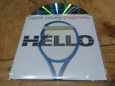MARTIN SOLVEIG & DRAGONETTE - HELLO !! !!!!FRENCH CD PROMO!!!!