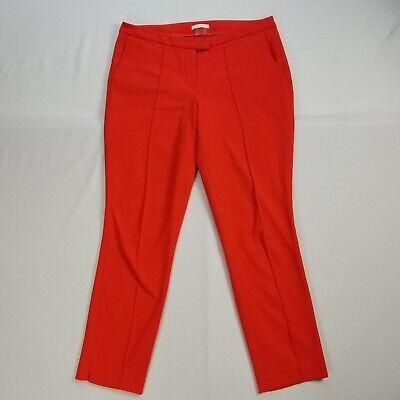 Dalia Women S Elegant Bright Red Dress Career Pants Size 10 Inseam 28 Ebay