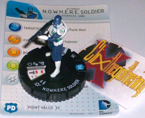 K.N.O.W.H.E.R.E SOLDIER #205 Teen Titans Gravity Feed DC HeroClix knowhere