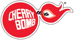 cherry bomb racing vintage vinyl decal sticker 5 sizes ebay