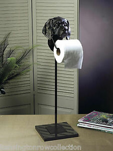 BATHROOM ACCESSORIES - LABRADOR RETRIEVER STANDING TOILET PAPER HOLDER