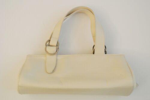 In Satchel Kleine 5 Lauren In Drop Ralph 5 X 3 12 Aus Handtasche Weiem Leder 6 X6wq1ra6