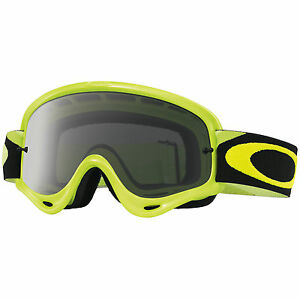 ebc0734fed Maschera Oakley O-Frame MX Goggles Giallo Fluo Dark Grey Cross ...