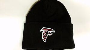 08b61925 Details about NFL Atlanta Falcons Winter Knit Hat, NEW (Black Cuffed)