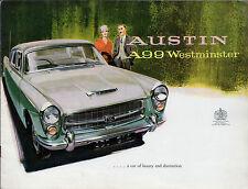 Austin A99 Westminster 1959-61 UK Market Sales Brochure