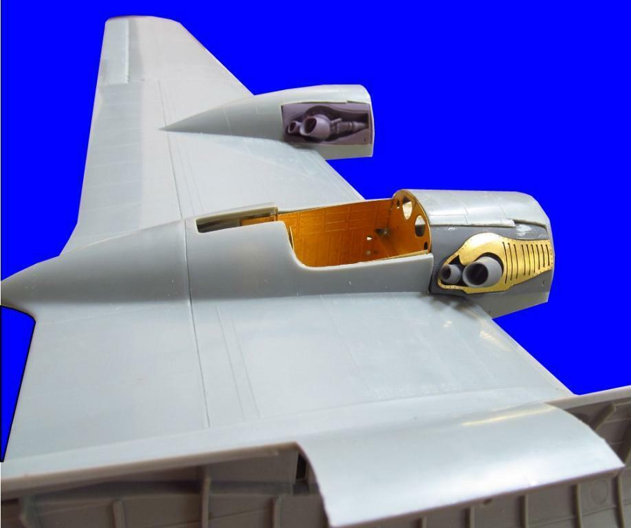 Metalliska detaljer 1  48 Boeing B -29 Detaljuppsättning MD0007