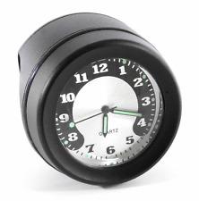 Lenkeruhr 1-1/4 32mm Metall Schwarz Big Motorrad Uhr für Honda Suzuki Motorrad