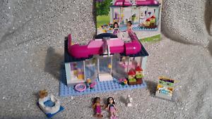 Lego Friends 41007 Heartlake Pet Salon 100 Complete Instructions