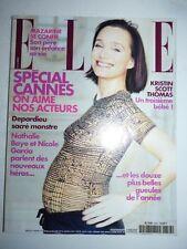 Magazine mode fashion ELLE French #2836 8 mai 2000 Kristin Scott Thomas