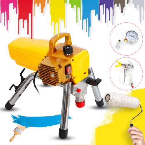 3300PSI Airless Farbsprühgerät 1800W Lackiergerät Wall Paint Farbspritzgerät HOT