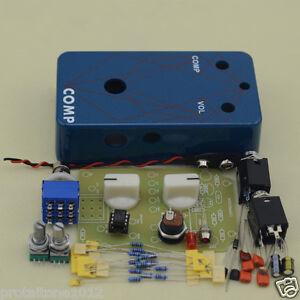diy compressor effect pedal kit guitar stomp pedals kit free shipping ebay. Black Bedroom Furniture Sets. Home Design Ideas