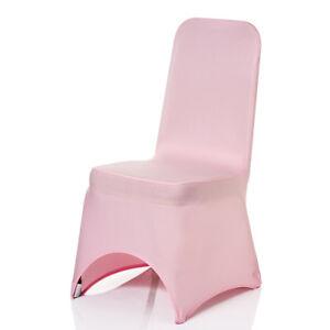Intelligent Bébé Rose-chaise Spandex Lycra Housse Mariage Anniversaire Banquet événements-afficher Le Titre D'origine