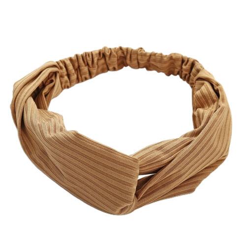 Haarband Damen Stirnband Elastisch Haarreife Kopfwickel Verdreht Kopfband für