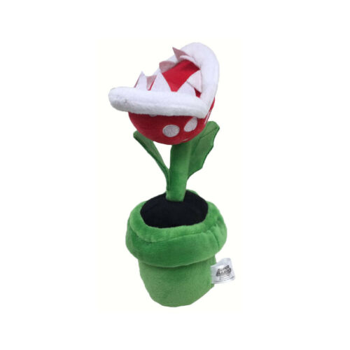 Super Mario Piranha plant Soft Plush Anime Kid Toy Doll Collect Decor Gift 20cm