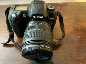 Appareil photo Nikon D70 + Objectif + Mallette