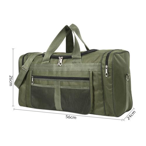 Herren Reisetasche Nylontasche Handtasche Handgepäck Schultertasche 56*29*24cm