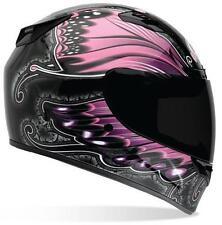 BELL Womens Vortex Monarch Full Face Street Sportbike Motorcycle Helmet XL Pink
