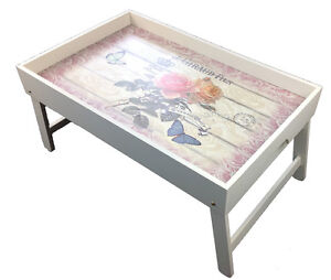 Bed-Tablet-Breakfast-Tray-Serving-Tray-Bed-Table-Tray-Belle-Rose