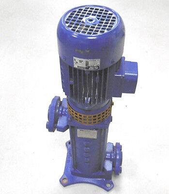 2019 Mode Hochdruckpumpe Ksb Movi V 25/1-05-3 Motor 0,55kw|230/400v|2840 Min-1