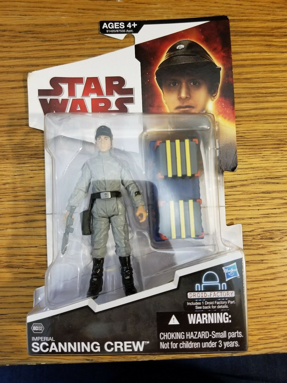 Star Wars Scanning Crew Figure Legacy Collection BD32 Action
