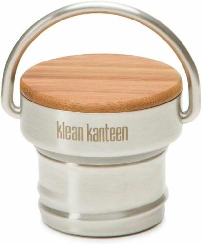 Klean Kanteen Bamboo Bouchon en Acier Inoxydable Avec Fixation Boucle étanche