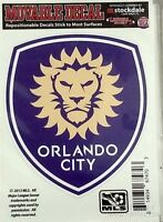 Orlando City Sc Lions 3 Vinyl Die Cut Decal Sticker Repositionable Soccer Club