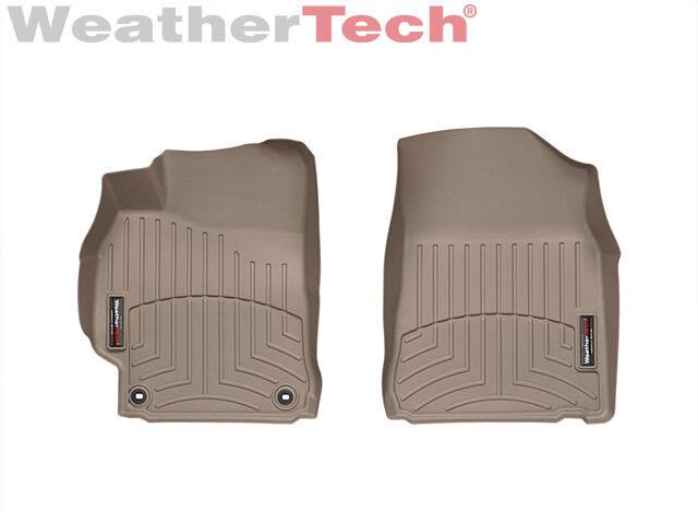 WeatherTech FloorLiner Mats for Toyota Camry 2012-2014.5-1st//2nd Row Tan