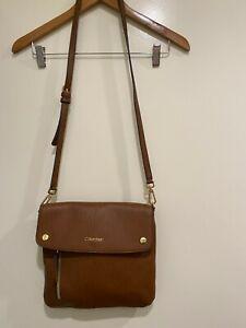 Calvin-Klein-Crossbody-Tan-Handbag