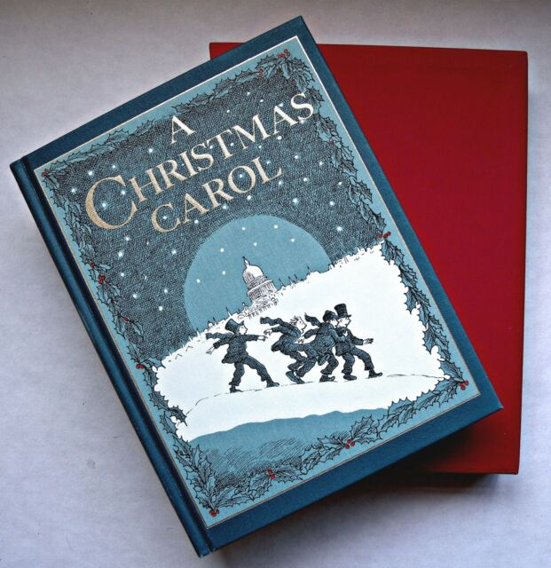 A Christmas Carol Charles Dickens Book For Sale Online
