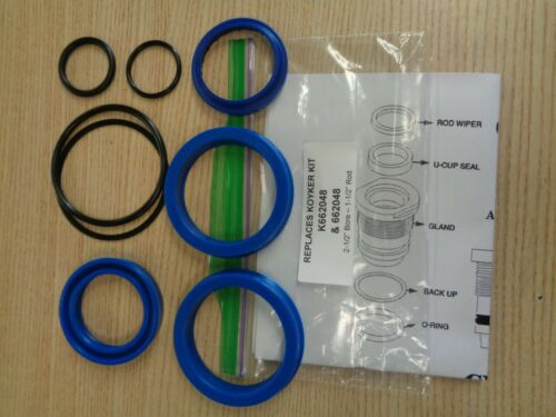 """# 662048 Koyker seal kit replacement for cyl//with 2-1//2/"""" bore 1-1//2/"""" Rod K662048"""