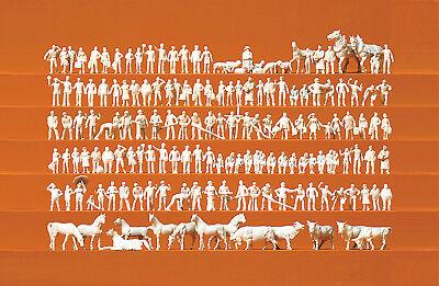 Preiser 88500 Spur Z Figure,passanti,materialfarbe Bianco # Nuovo In Confezione Colore Veloce