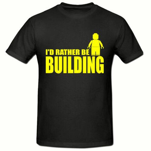 Preferirei essere Building T Shirt divertenti novità T Shirt T-shirt per bambini