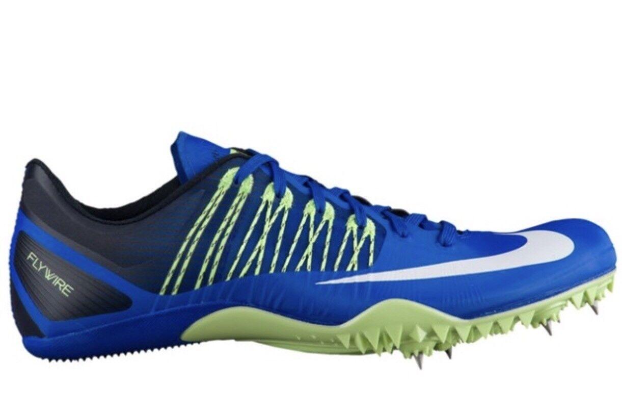 17f07f9c7628 NIKE Zoom Celar 5 Track Track Track Field Running Shoes Spikes Hyper Cobalt  Blue Green 11.5