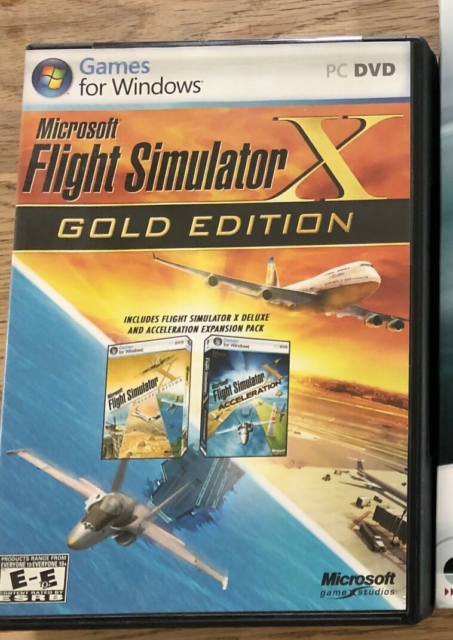 Flysimulator, Microsoft, simulation, Flight Simulator X…