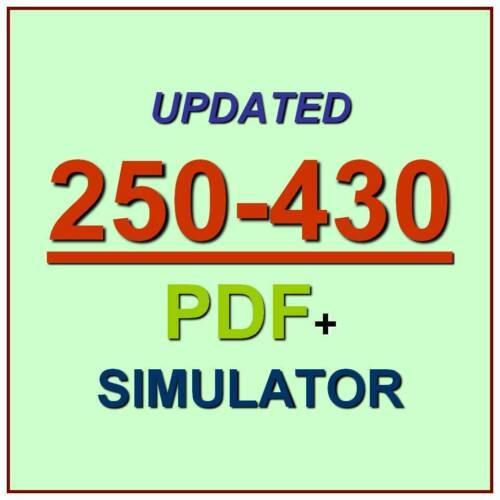 Symantec Administration of Blue Coat ProxySG 6.6 Test 250-430 Exam QA PDF+SIM