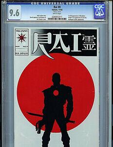 Rai-Issue-0-CGC-9-6-NM-GLOSSY-Version-Valiant-Comics-1992-1st-Bloodshot