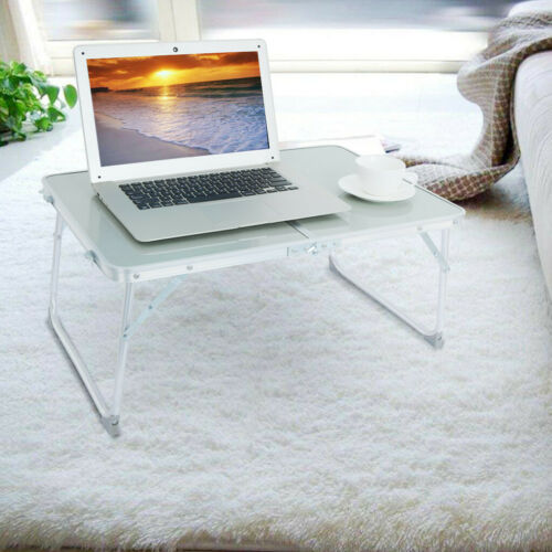 Folding Lazy Laptop Computer Table Portable Lap Desk Bedside Tray Stand Home US