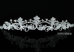 Bridal-Wedding-Vintage-Style-Tiara-use-High-Quality-Austrian-Crystal-AT1495