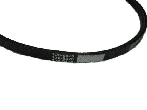 2-PACK OF OEM TORO PART # 120-9470 TRACTION V-BELT FOR TORO TIMEMASTER MOWERS