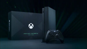 XBOX-ONE-X-1TB-Project-Scorpio-Limited-Edition-NIB-SOLD-OUT-FAST-FREE-SHIPPING