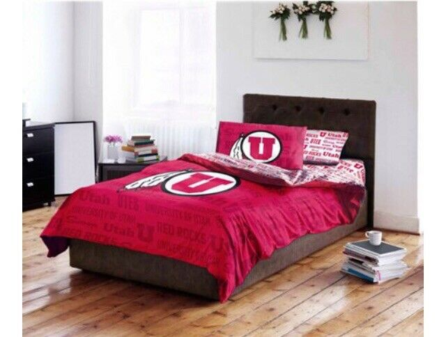 NCAA University of Utah Bedding Set