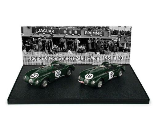 JAGUAR C TYPE LE MANS WINNER 1951//1953 BRUMM SCALA 1//43 AS30 BRUMM AUTOSTORY