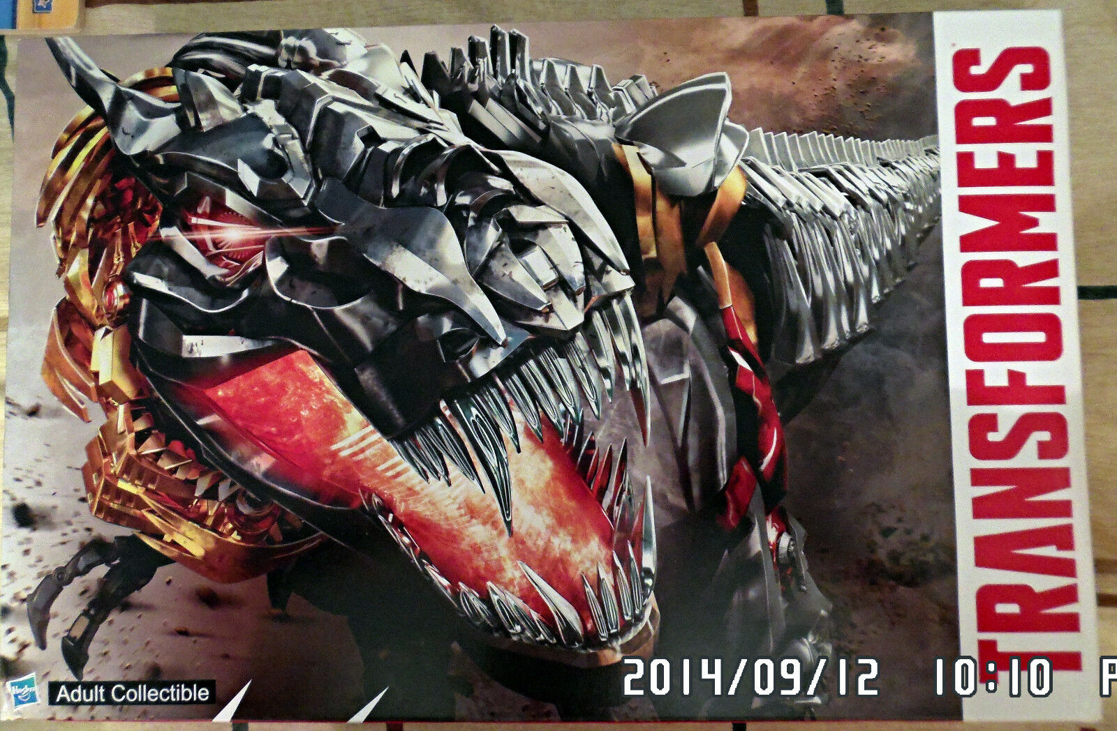 2014 SDCC Transformers Age of Extinction Dinobots Set with Pop-Up Headquarter NY