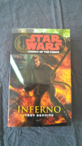 1 of 1 - Star Wars: Legacy of the Force 6 - Inferno by Troy Denning (Paperback, 2007)
