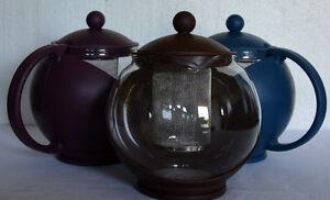 Teekanne-Teebereiter-Tee-Teezubereiter-1250-ml-mit-Teesieb-Neu