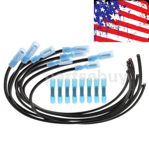 8pcs Glow Plug Harness Repair Kit For Ford 7.3L 6.9L Diesel F250 F350 E350 USA