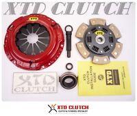 Xtd Stage 2 Street Race Clutch Kit Fits 96-08 Hyundai Elantra Tiburon 1.8l 2.0l