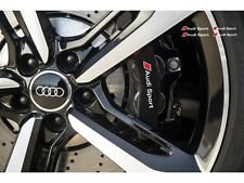 4x Audi Sport Aufkleber für Bremssättel  Emblem Logo